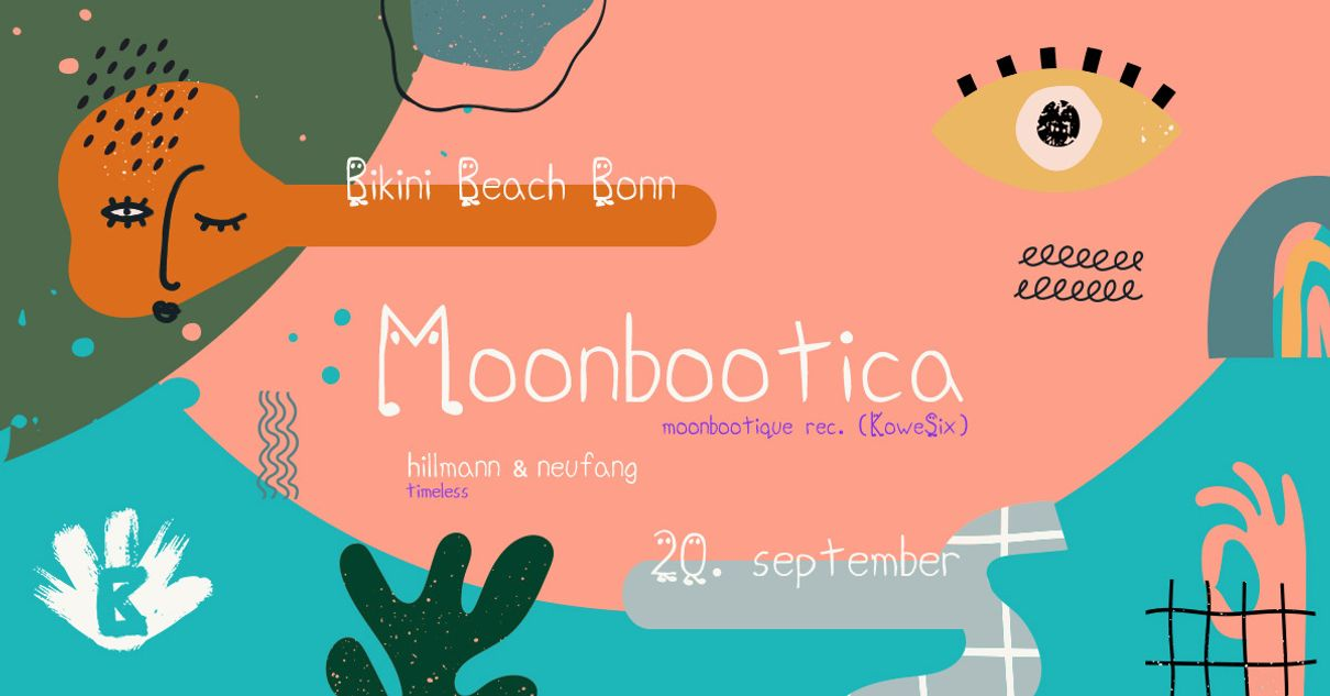 Moonbootica am Beach
