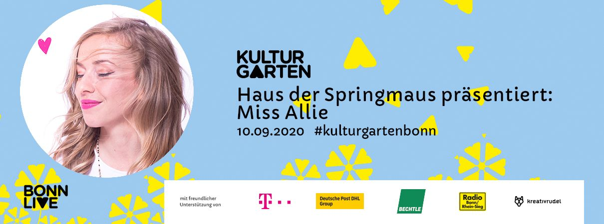 Miss Allie | BonnLive Kulturgarten