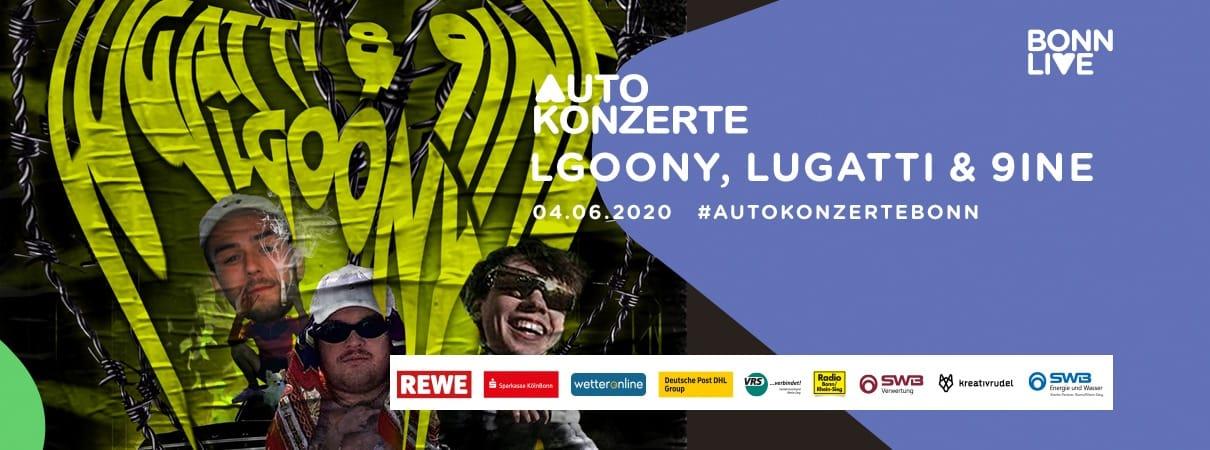 LGoony, Lugatti & 9ine | BonnLive Autokonzerte