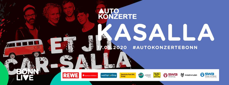 Kasalla | BonnLive Autokonzerte | Zusatzshow
