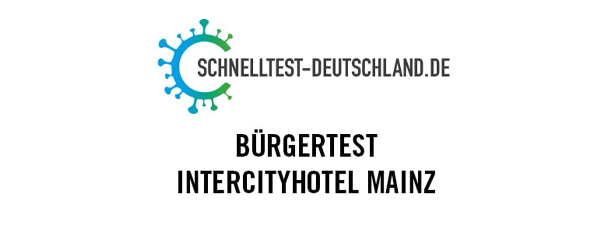 Schnelltestzentrum Intercityhotel
