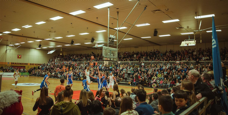 Dragons Rhöndorf vs. scanplus baskets Elchingen