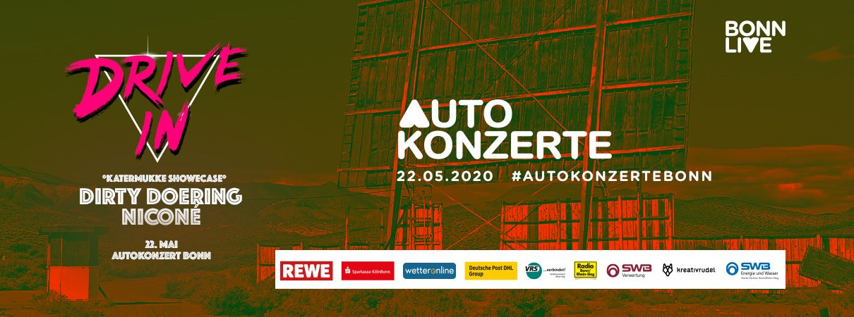 Dirty Doering & Niconé   BonnLive Autokonzerte