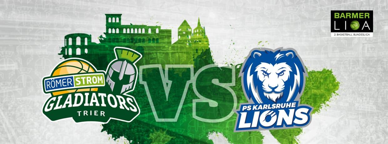 RÖMERSTROM Gladiators Trier vs. PS Karlsruhe LIONS