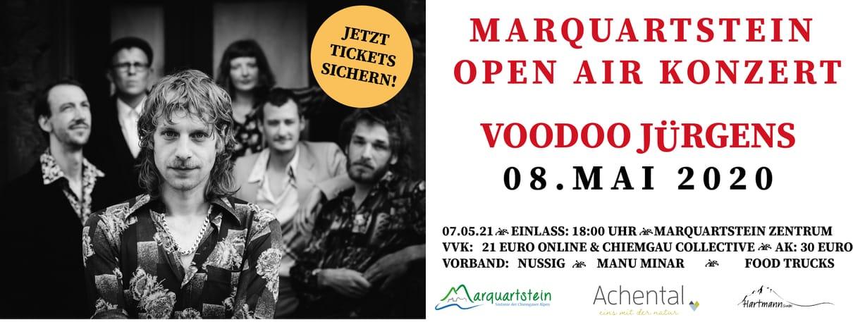 Marquartstein OPEN AIR Konzert mit VODOO Jürgens