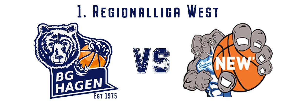 1. Regionalliga West BG Hagen - NEW Elephants Grevenbroich