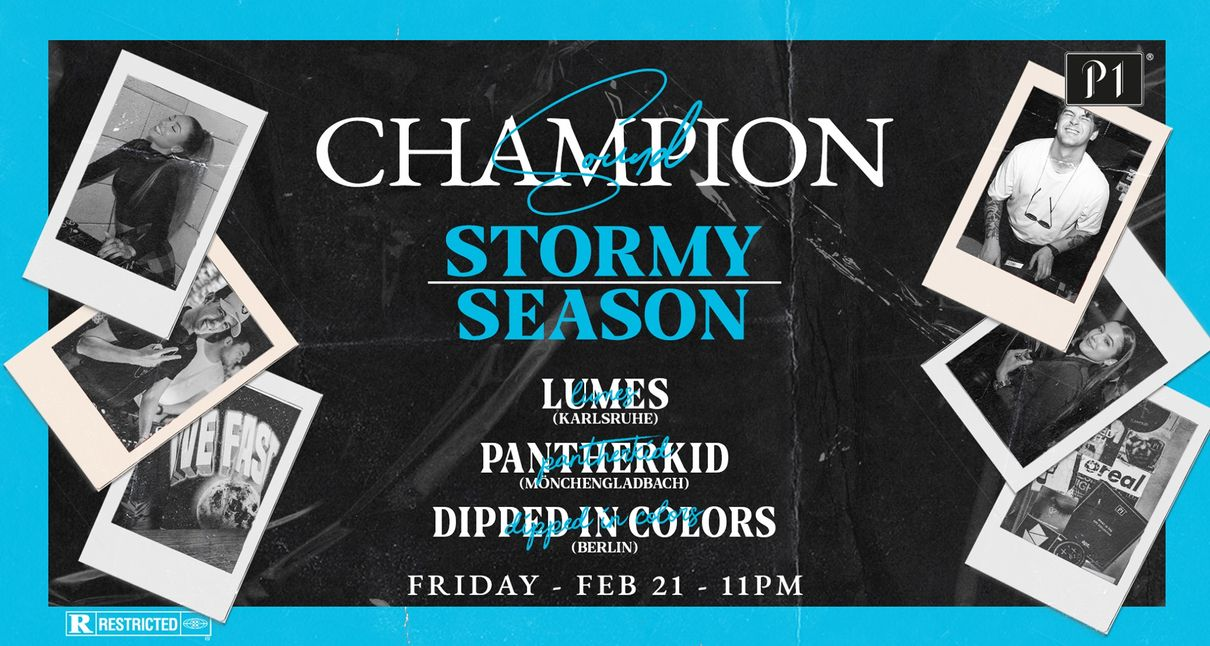 Champion Sound - Stormy Season