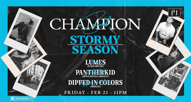 Champion Sound - Stormy Season