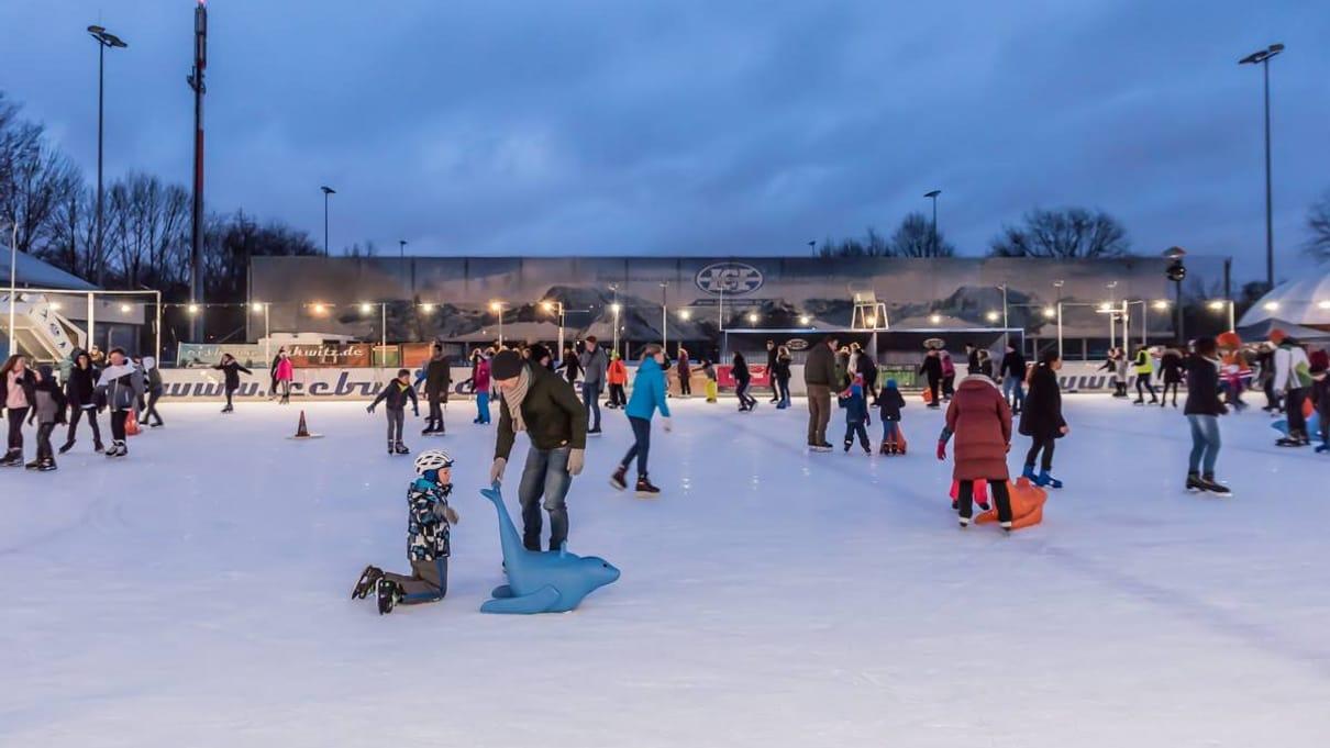 Eislaufen in Lankwitz