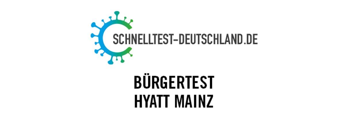 Schnelltestzentrum Hyatt Regency Mainz