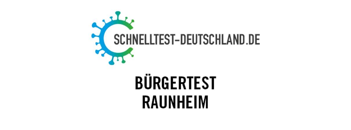 Schnelltestzentrum Raunheim