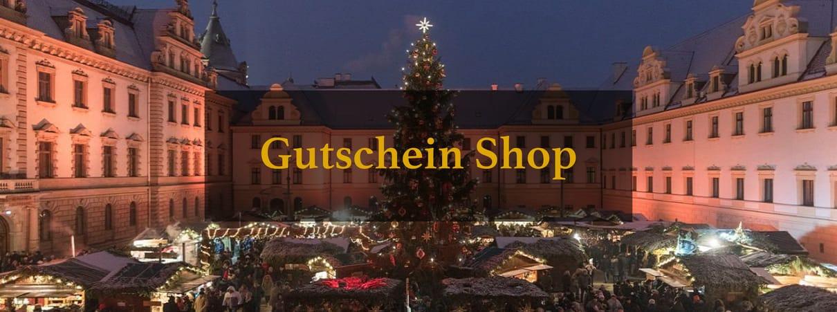 Gutschein Shop - Romantischer Weihnachtsmarkt auf Schloss Thurn & Taxis zu Regensburg