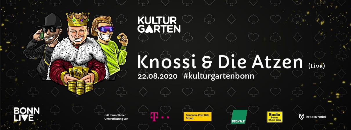 Knossi & Die Atzen Live | BonnLive Kulturgarten