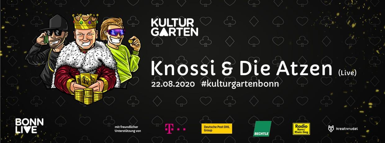 Knossi & Die Atzen Live   BonnLive Kulturgarten