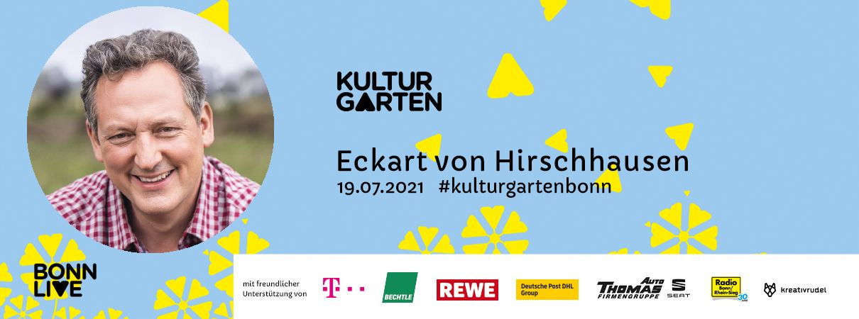 Eckart von Hirschhausen   BonnLive Kulturgarten