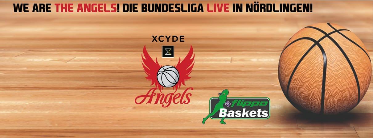 XCYDE Angels - flippo Baskets BG 74 Göttingen