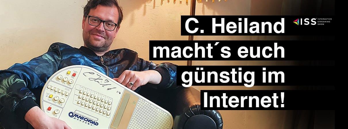 C. Heiland macht´s euch günstig im Internet!