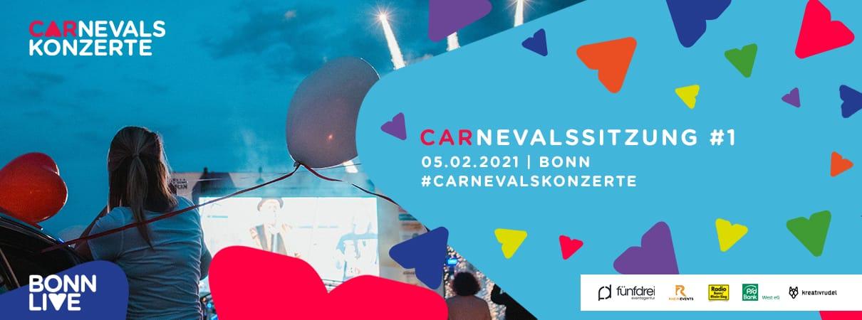 Carnevalssitzung #1 (PKW-Tickets ausverkauft) | Bonn Carnevalskonzerte