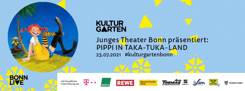 JTB: Pippi in Taka-Tuka-Land   BonnLive Kulturgarten