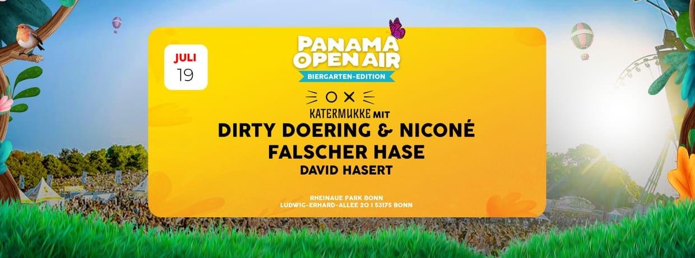 Panama Open Air - Biergarten Edition  w/ Katermukke & Falscher Hase