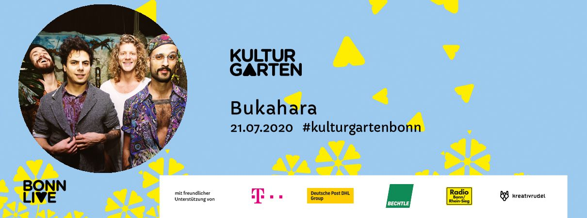 Bukahara   BonnLive Kulturgarten