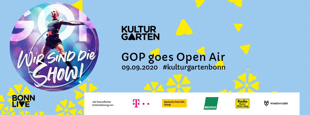 GOP goes Open Air | BonnLive Kulturgarten