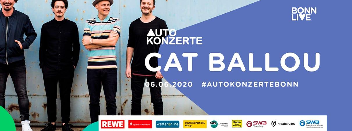 Cat Ballou | BonnLive Autokonzerte | Zusatzshow