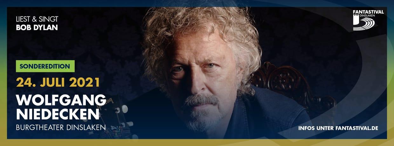 FANTASTIVAL Sonderedition 2021 - Wolfgang Niedecken liest & singt Bob Dylan