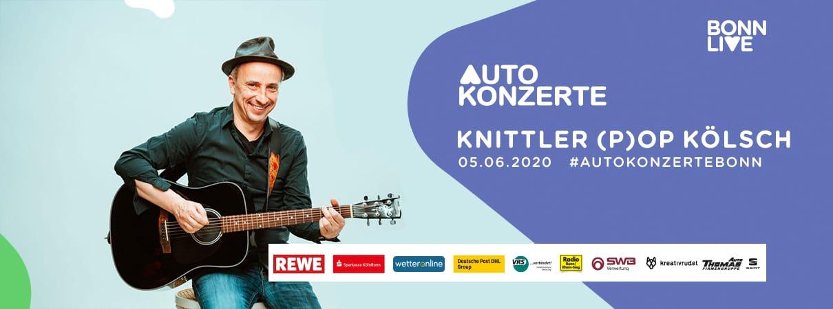 Knittler (P)op Kölsch | BonnLive Autokonzerte
