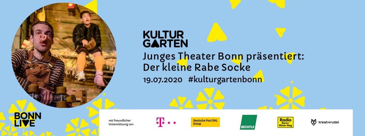 JTB: Der kleine Rabe Socke   BonnLive Kulturgarten