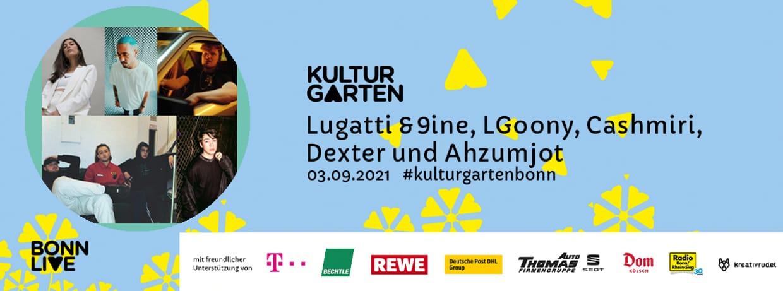 Lugatti & 9ine, LGoony, Cashmiri, Dexter und Ahzumjot | BonnLive Kulturgarten