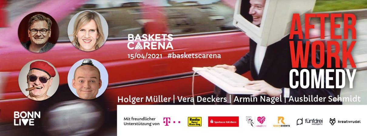 After Work Comedy /w Holger Müller, Ausbilder Schmidt, Armin Nagel & Vera Deckers