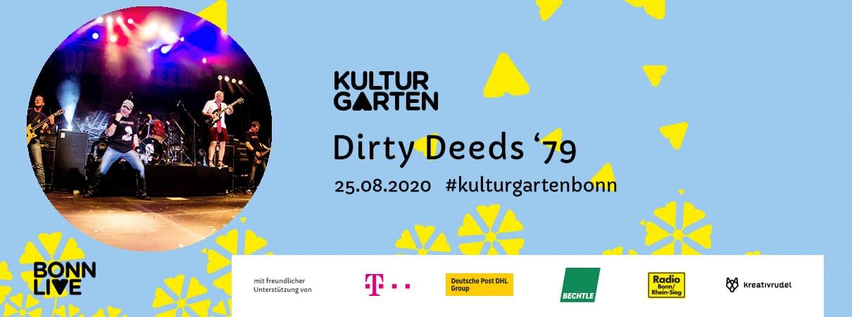 Dirty Deeds '79  | BonnLive Kulturgarten