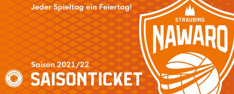 NawaRo Straubing Saison 2021/22 inkl. VBL Ligapass
