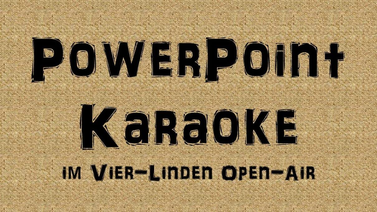 PowerPoint Karaoke - Open-Air