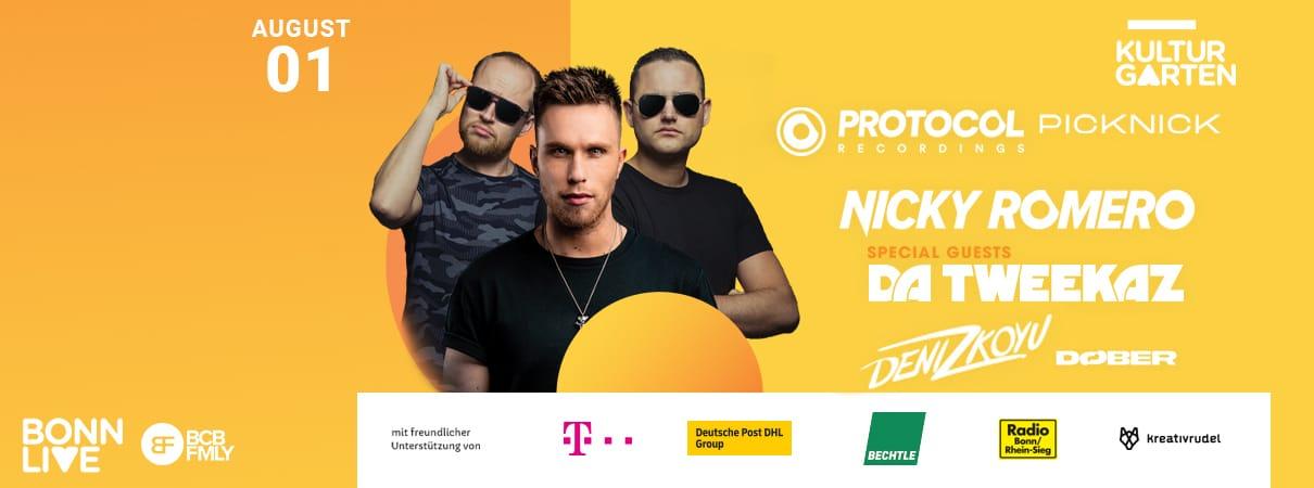 Protocol Picknick w/ Nicky Romero & Da Tweekaz and more    BonnLive Kulturgarten