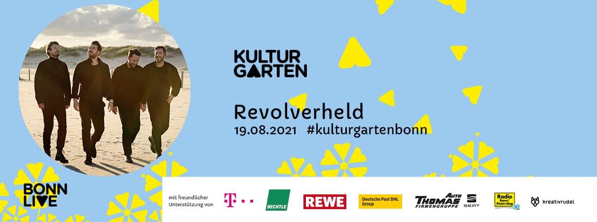 Revolverheld | BonnLive Kulturgarten