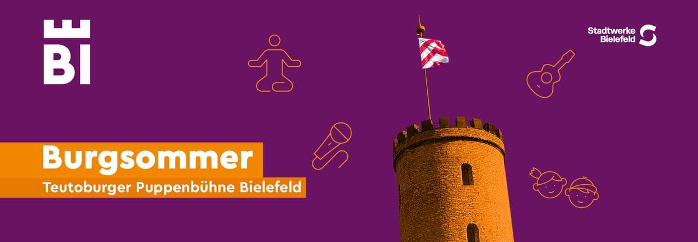Burgsommer 2021 - Teutoburger Puppenbühne Bielefeld